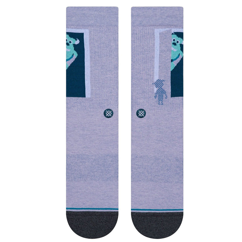 Stance Sully And Boo Socks Monsters Inc Purple