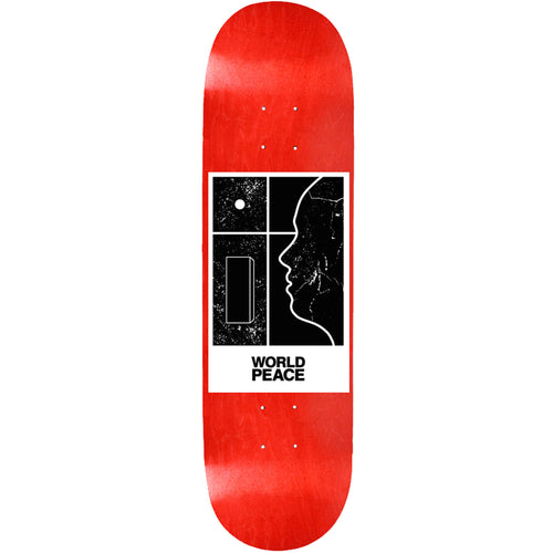 World Peace Belief System Deck Red 8.50""