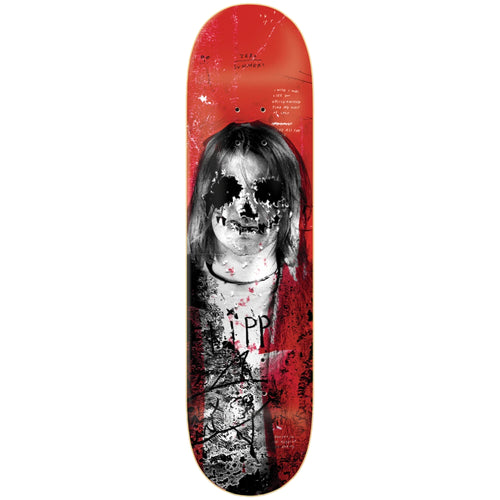 Zero Skateboards 27 Club Summers Deck Red 8.25""