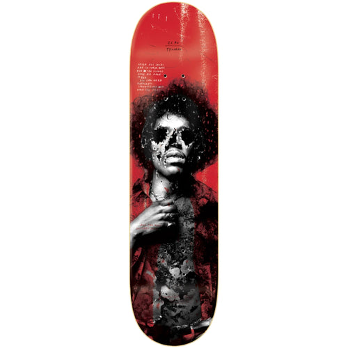 Zero Skateboards 27 Club Thomas Deck Red 8.5""