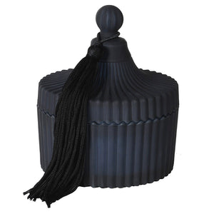 Large Black Jar Candle
