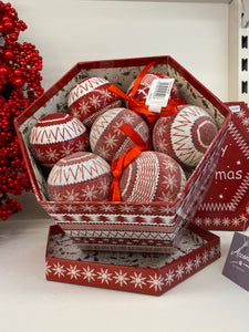 Decoupage bauble pack