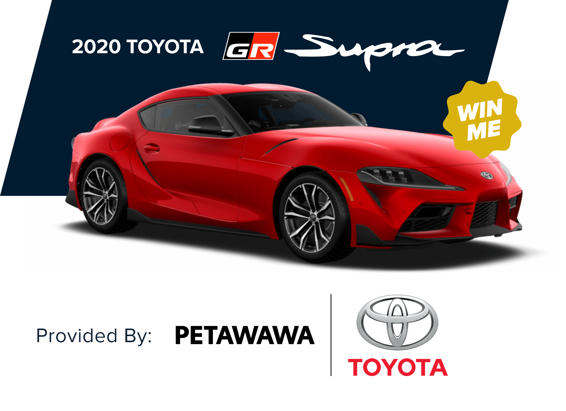 2020 red Toyota Supra