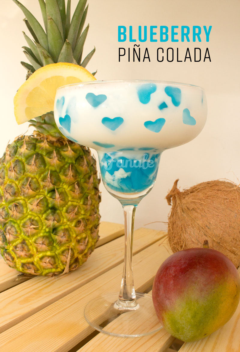 Pina Colada with Heart Jelly Recipe
