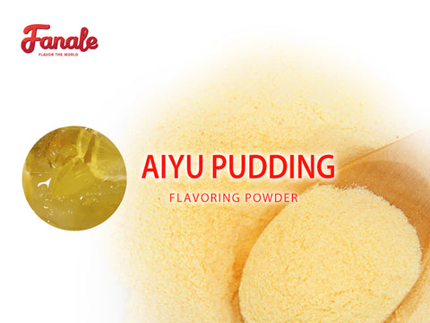 Taiwanese Top Desserts : Aiyu Pudding