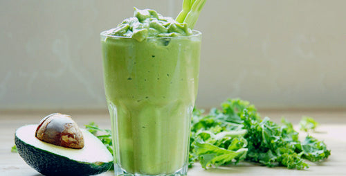 Summer Drink : Avocado Smoothie with Tapioca Bubbles