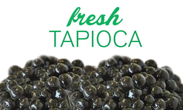 You Can't Have Bubble Tea Without Fresh Tapioca