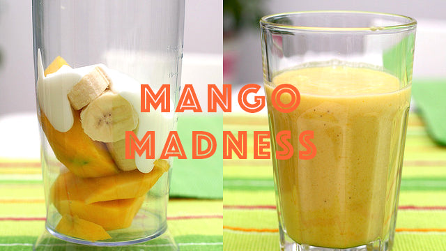 Banana Mango Madness Smoothie Recipe