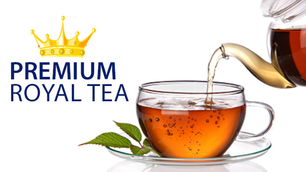 Enjoy our Premium Royal Tea Lineup