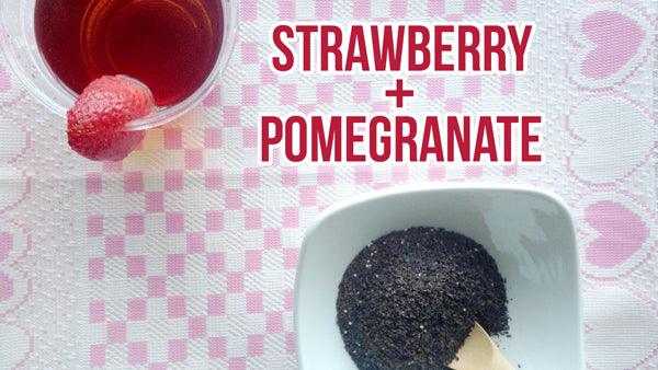 Valentine's Day : Strawberry Pomegranate Tea