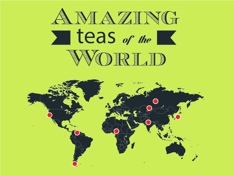 Tea From All Around the World
