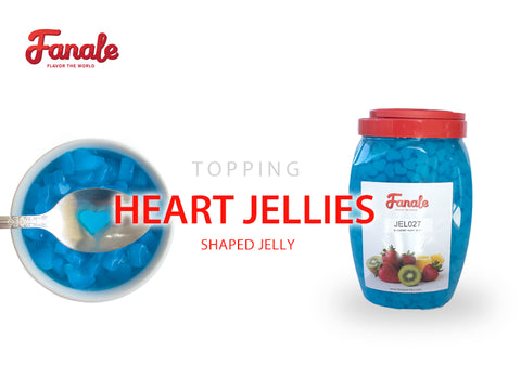 Heart Shaped Jelly - Blueberry
