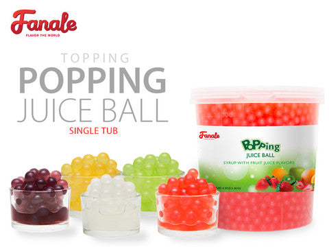 Popping Boba - 1 Tub - Fanale