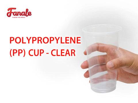 Polypropylene (PP) Cup - Clear - Fanale