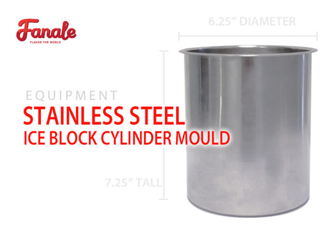 Stainless Steel Snow Ice Block Cylinder Mould