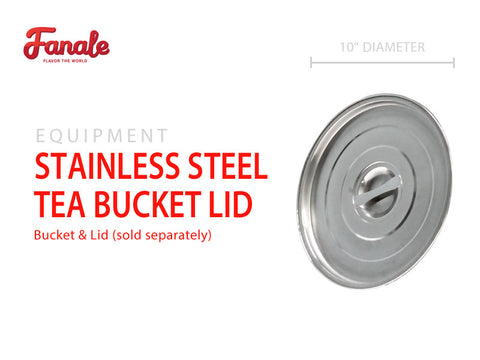 Stainless Steel Tea Bucket Lid