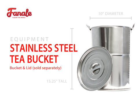 Stainless Steel Tea Brewing Bucket