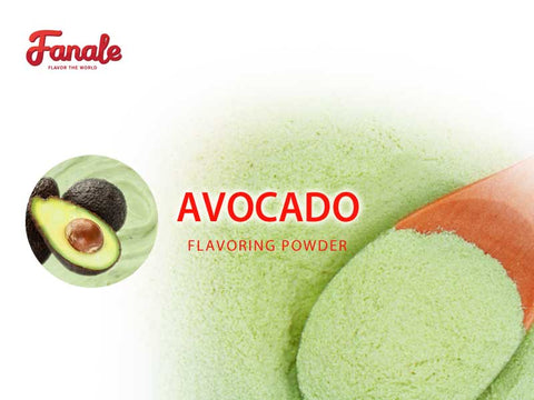 Fanale Avocado Powder Boba Bubble Tea
