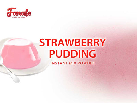 Strawberry Pudding Powder