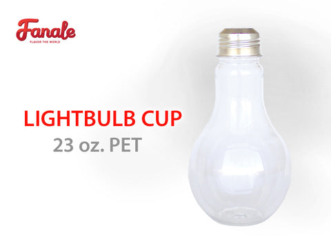 Light Bulb Cup - 23 oz. PET