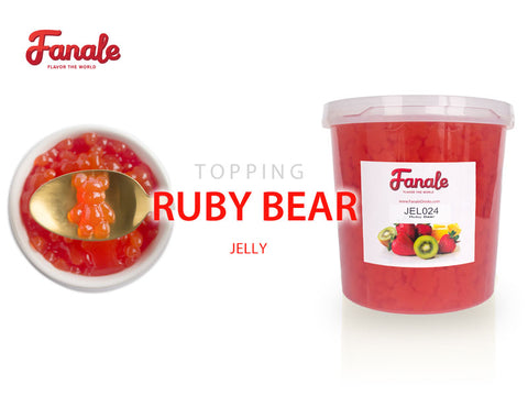 Ruby Bear Jelly - Strawberry