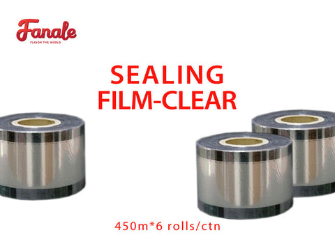 Sealing Film for PP Material Bubble Tea Drink Cups (Clear) - Fanale