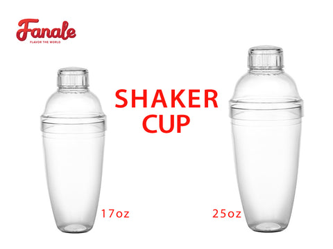Bubble Tea Shaker Cup  (17 oz. / 25 oz.) - Fanale