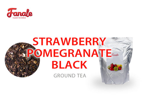 Premium Royal Tea - Strawberry Pomegranate Black Tea