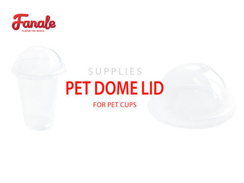 PET Cup Dome Lid - Fanale