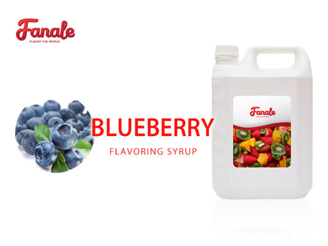 Blueberry Syrup - Fanale