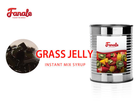 Grass Jelly Syrup - Fanale