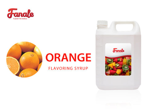 Orange Syrup - Fanale