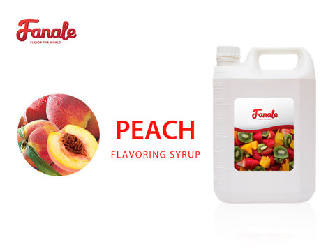 Peach Syrup - Fanale