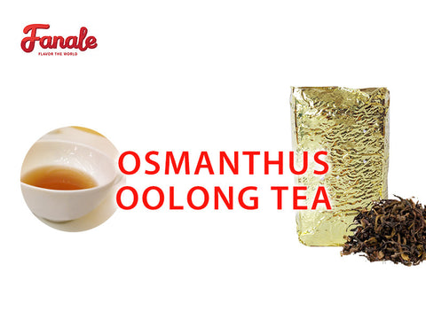 Osmanthus Oolong Tea (Ground) - Fanale