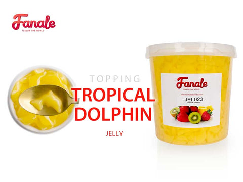 Tropical Dolphin Shaped Jelly Passionfruit Flavored- Fanale