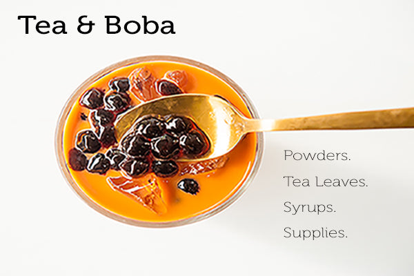 Direct Supplier for Bubble Tea & Boba Milk Tea Wholesale