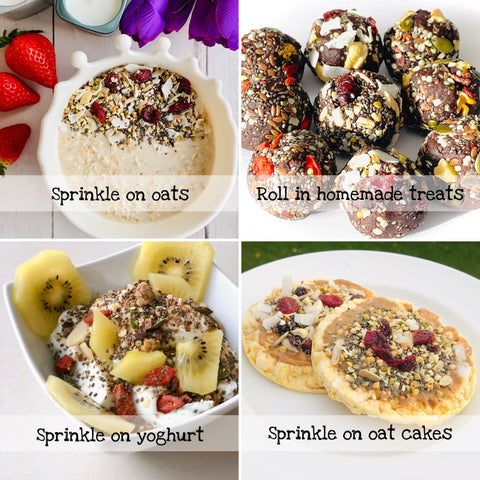 Energise Superfood Boost how to use sprinkle on whatever you love