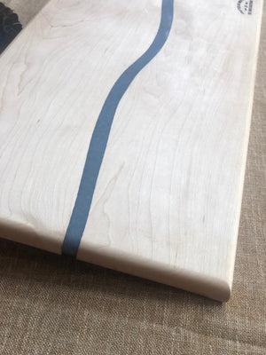 Resin Maple Charcuterie board