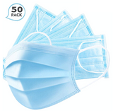 3 Ply Disposable Masks - 50 Units