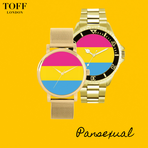 pansexual flag watches