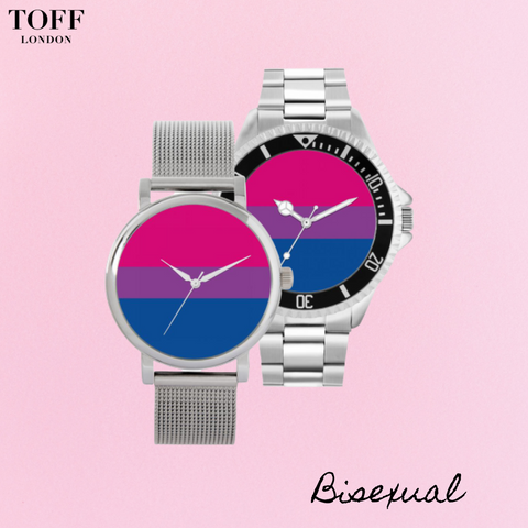 bisexual flag watches