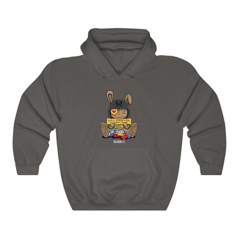 WOJGy Bear Flight Time Hoodie