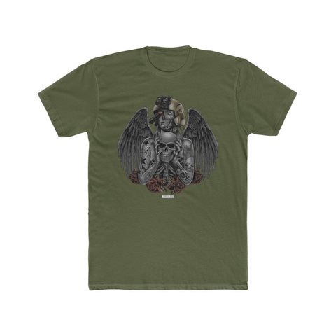 Lady Luck Military Green Shirt