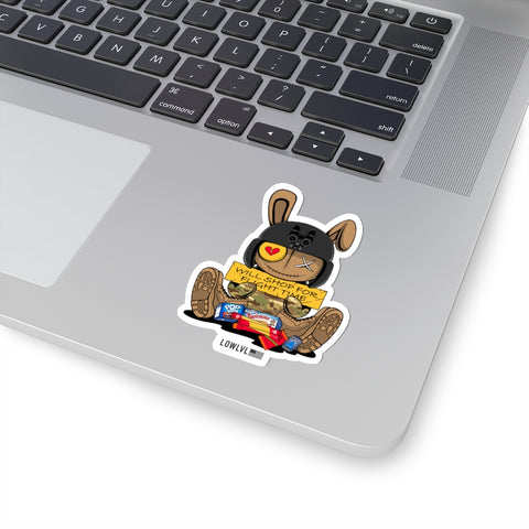 WOJGy Bear Zap (Sticker)