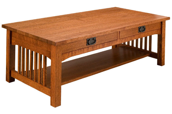 Trend Manor Mission Rectangle Coffee Table