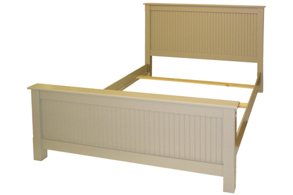 Queen bead board bed in Khaki