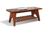 Overland Live Edge Cocktail Table in Great Camps Finish