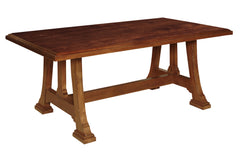 Napa Trestle Table in Great Camps Finish