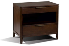 Duo Nightstand in Cocoa Finish
