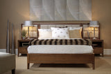 Divi Bed with Wall Unit in Spice Finish